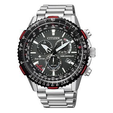 Citizen Promaster Sky CB5001-57E Eco-Drive Direct Flight Global Radio Controlled Black Dial Chronograph Men's Watch