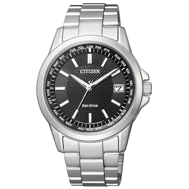 Citizen Collection CB1090-59E Eco-Drive Solar Radio Stainless Steel Men's Watch