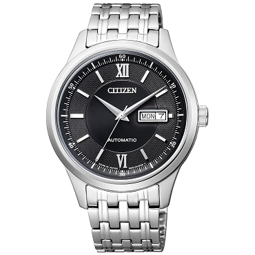 Citizen Collection NY4050-54E Japanese Automatic Stainless Steel Black Dial Men's Watch