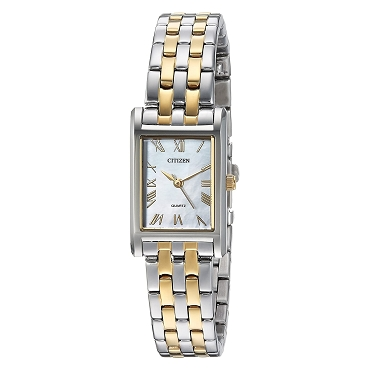 Citizen EJ6124-53D Two Tone Stainless Steel Mother Pearl Dial Quartz Women's Watch