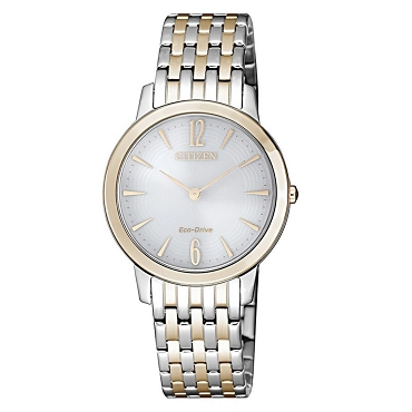 Citizen EX1496-82A Eco-Drive Two-Tone Stainless Steel 5 ATM Women's Watch