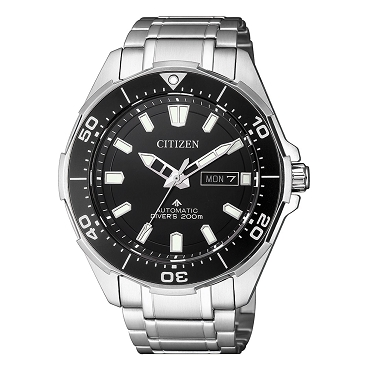 Citizen Promaster NY0070-83E Automatic Black Dial Super Titanium 200M Scuba Men's Diver Watch