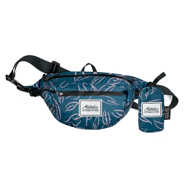 Matador Daylite Ultralight Waterproof Folding Hip Pack Belt Bag Certilogo - Leaf Pattern