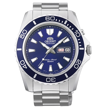 Orient FEM75002DW Mako XL Automatic Blue Dial Dive Stainless Steel Men's Watch
