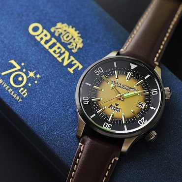Orient Weekly Auto King Diver RA-AA0D04G0HB 70th Anniversary Men's Watch (Limited 1700 pcs Worldwide) - Made In Japan