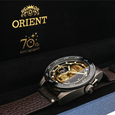 Orient RA-AR0204G00B Retro Future Camera 70th Anniversary Automatic Men's Watch - Limited 2300 pcs Worldwide