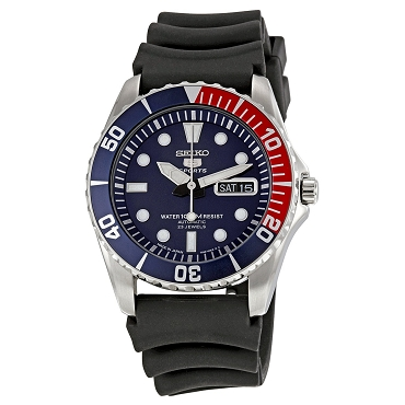 Seiko 5 SNZF15 SNZF15J2 Automatic 23 Jewels Blue Dial Stainless Steel Men's Watch