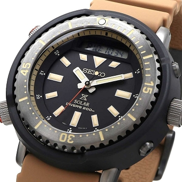 Seiko Prospex SNJ029P1 Arnie Urban Safari Solar Sports Diver's 200M Men's Watch