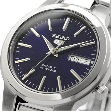 Seiko 5 SNKA05K1 SNKA05 Automatic 21 Jewels Blue Dial Stainless Steel Men's Watch