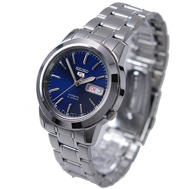 Seiko 5 SNKE51K1 SNKE51 Automatic 21 Jewels Blue Dial Stainless Steel Men's Watch