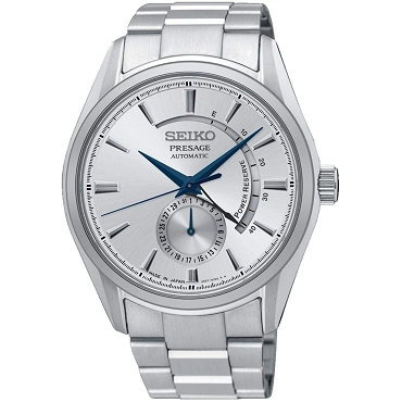 Seiko Presage SSA349J1 Cocktail Time 29 Jewels Automatic Power Reserve Display Men's Watch - Made in Japan