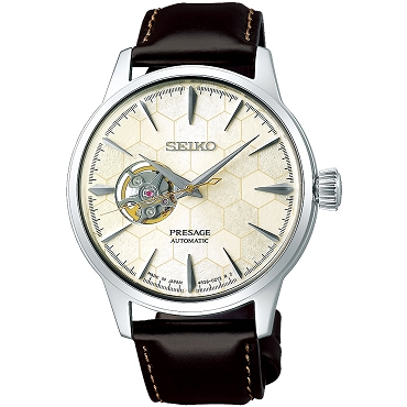"Seiko Presage SSA409J1 Cocktail Time ""STAR BAR"" 24 Jewels Automatic Ivory Dial Men's Watch Limited 6000 pcs Worldwide - Made in Japan"