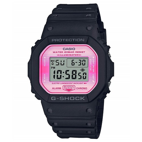 Casio G-Shock DW-5600TCB-1JR Sakura Storm Cherry Blossoms Japan Limited Edition Watch - JDM (Japanese Domestic Market) Model