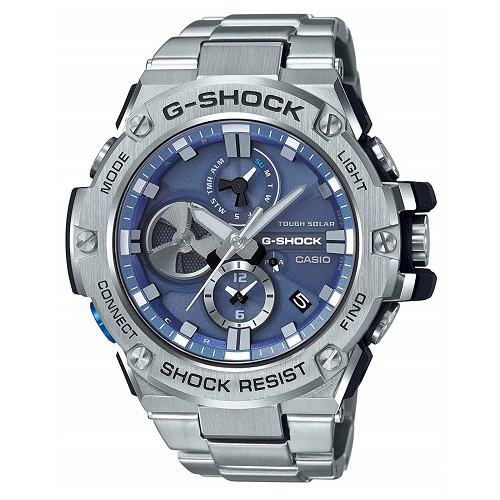 Casio G-Shock G-Steel GST-B100D-2AJF Tough Solar Mobile Link Men's Watch iOS Android - JDM (Japanese Domestic Market) Model