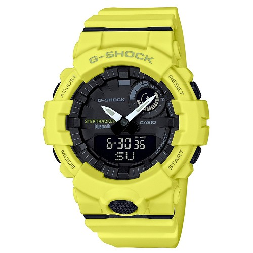 Casio G-Shock GBA-800-9AJF G-Squad Shock Resistant Step Tracker Bluetooth Mobile Link Men's Watch - JDM (Japanese Domestic Market) Model