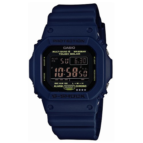 Casio G-Shock GW-M5610NV-2JF Tough Solar Multiband 6 Men's Watch - JDM (Japanese Domestic Market) Model