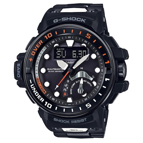 Casio G-Shock GWN-Q1000MC-1AJF Gulfmaster Quad Sensor Tough Solar Multiband 6 Men's Watch - JDM (Japanese Domestic Market) Model