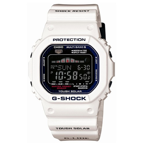 Casio G-Shock GWX-5600C-7JF G-LIDE Tough Solar Multiband 6 Tide Graph Men's Watch - JDM (Japanese Domestic Market) Model