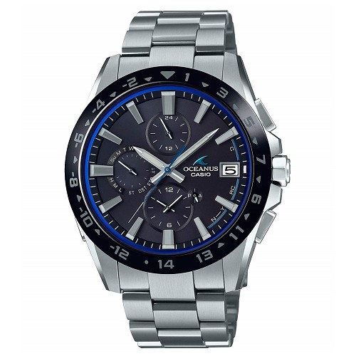 Casio Oceanus OCW-T3000A-1AJF Titanium Tough Solar Bluetooth Mobile Link Multiband 6 Men's Watch - JDM (Japanese Domestic Market) Model