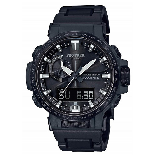 Casio Pro Trek PRW-60FC-1AJF Triple Sensor Tough Solar Multiband 6 Climber Line Men's Watch - JDM (Japanese Domestic Market) Model