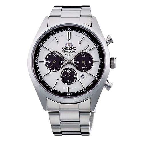Orient Neo70's Neo-seventies WV0041TX Solar Chronograph Men's Watch - JDM (Japanese Domestic Market) Model