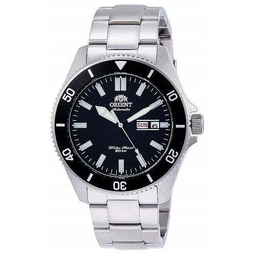 Orient Sports RN-AA0006B Automatic Mechanical 20 ATM Diver Stainless Steel Men's Watch - JDM (Japanese Domestic Market) Model