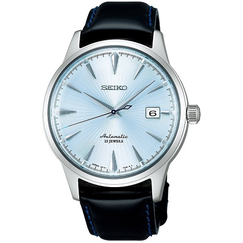 Seiko SARB065 Cocktail Time Mechanical Automatic Silver Blue Dial Men's Watch - JDM (Japanese Domestic Market) Model