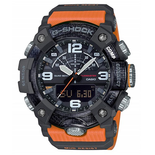 Casio G-Shock GG-B100-1A9JF Mudmaster Carbon Core Bluetooth Mobile Link Men's Watch - JDM Product (Japanese Domestic Market)