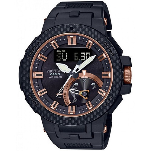 Casio Pro Trek PRW-7000X-1JR Triple Sensor Multiband 6 Solar Radio Controlled Limited Edition Men's Watch - JDM (Japanese Domestic Market) Model