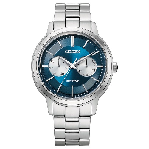 Citizen Collection BU4030-91L Eco-Drive Blue Dial Stainless Steel Men's Watch