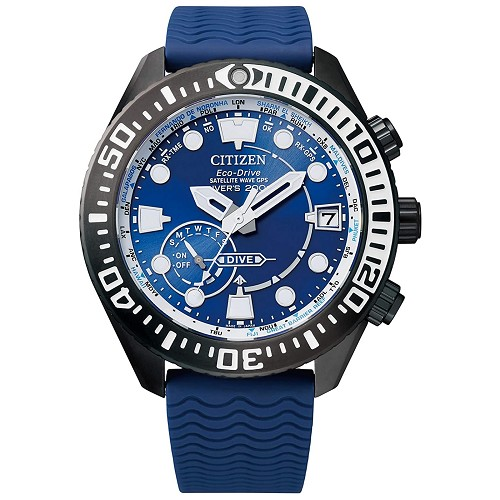 Citizen Promaster Marine CC5006-06L Eco-Drive GPS Satellite Wave Super Titanium Sapphire Glass Diver Men's Watch - MADE IN JAPAN