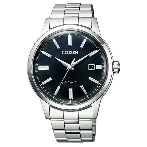 Citizen Collection Classic Series NK0000-95L 21 Jewels Automatic Navy Dial Stainless Steel Men's Watch