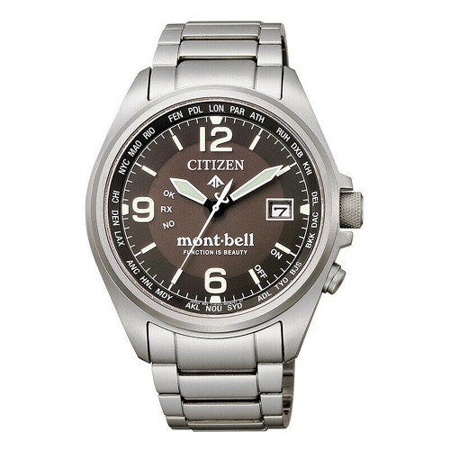Citizen Promaster CB0171-89E mont-bell Titanium Eco-drive Atomic Men's Watch - JDM (Japanese Domestic Market) Model