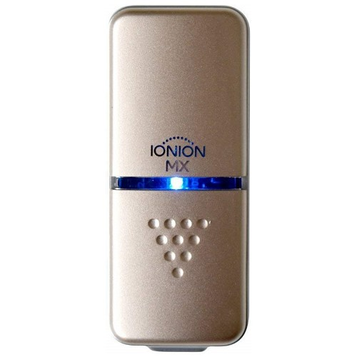 IONION MX Air Purifier Ultracompact Portable Ion Generating Champagne Gold MADE IN JAPAN