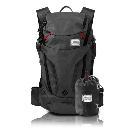 Matador Beast28 Beast 28L Packable Technical Backpack Ultra-light Dark Grey with Slate Blue Undertone Color