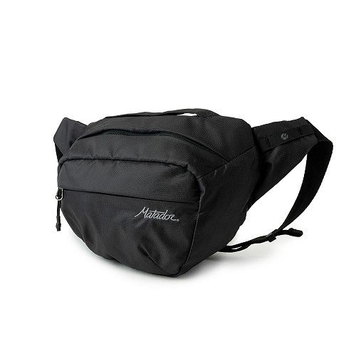 Matador On-Grid Packable Ultralight Waterproof Folding 2 Lite Hip Pack - Charcoal