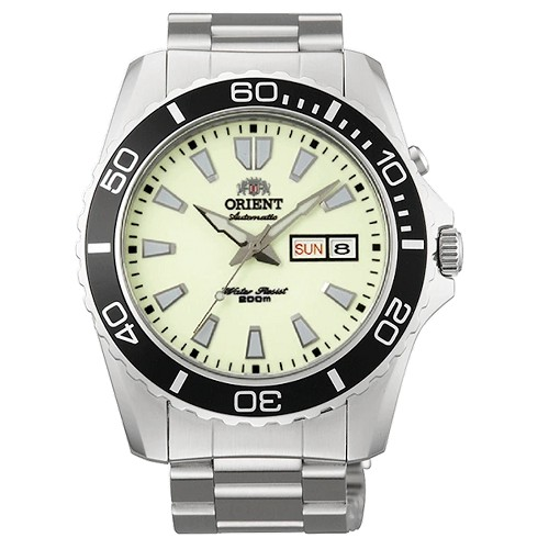 Orient FEM75005R9 Mako XL Luminous Automatic Dive Stainless Steel Men's Watch