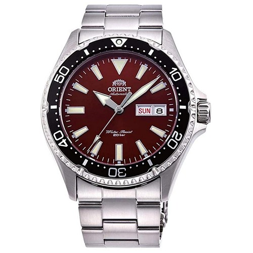 Orient Mako III RA-AA0003R19B Automatic Red Dial Stainless Steel 200M Men's Diver Watch