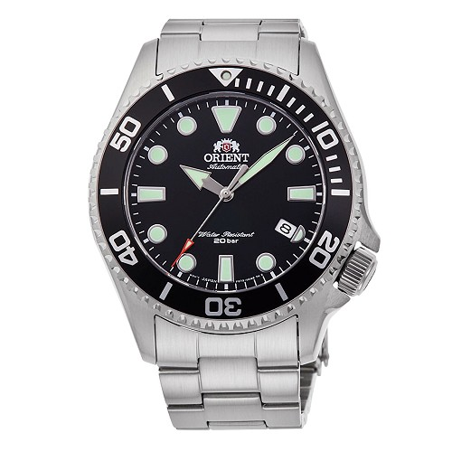 Orient Sports RA-AC0K01B 70th Anniversary Automatic 200M Black Dial Men's Diver Watch