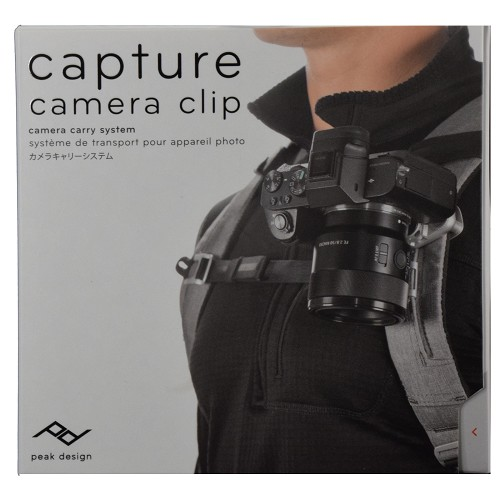Peak Design Capture V3 Camera Clip with Standard Plate CP-S-3 - Silver