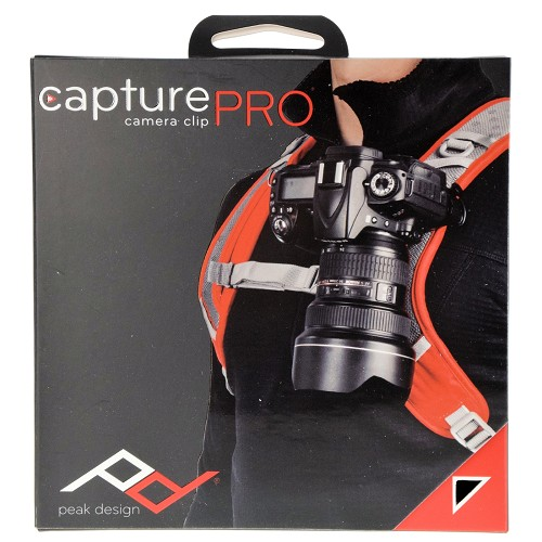 Peak Design CapturePro Camera Clip CP-2 with Proplate Quick Release Plate