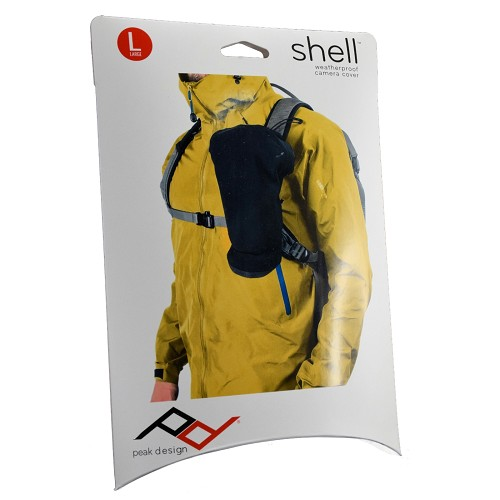 Peak Design Shell Large Form-Fitting Rain and Dust Cover (Black) SH-L-1