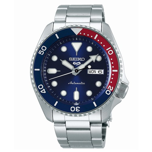 Seiko 5 SRPD53K1 SRPD53K Automatic 24 Jewels Blue Dial Stainless Steel Men's Watch