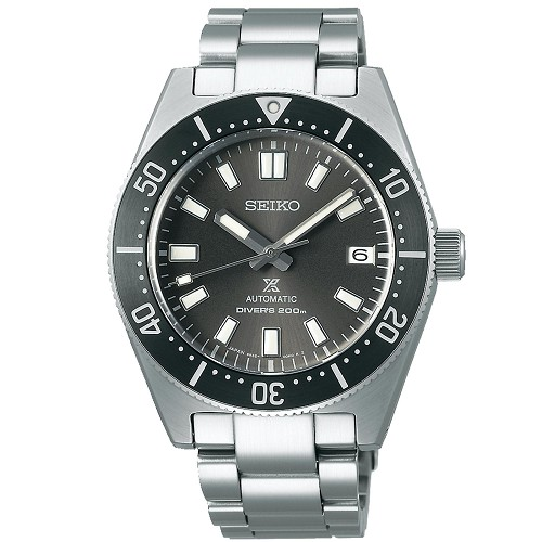 Seiko Prospex SPB143J1 1965 Dive Style Remake 24 Jewels Automatic Gray Dial Diver Scuba Men's Watch - Made in Japan