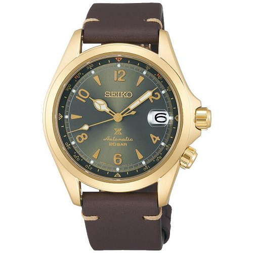 Seiko Prospex Alpinist Forest SPB210J1 24 Jewels Automatic Green Dial Men's Watch - Made in Japan
