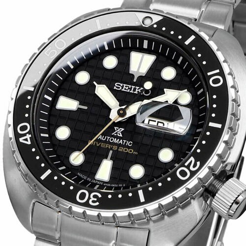 Seiko Prospex King Turtle SRPE03J1 24 Jewels Automatic Black Dial Limited Men's Diver Watch - Made in Japan