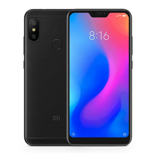 Xiaomi Mi A2 Lite 5.84 Inch Full Screen 4G LTE  Qualcomm Snapdragon 625 4GB 64GB 12.0MP + 5.0MP Dual Rear Cameras Android 8.1 4000mAh Touch ID Smartphone - Black (Global Edition)